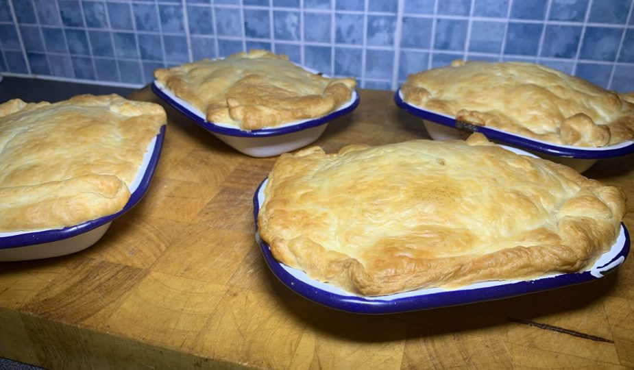 Easy Chicken and Bacon Pie Dad's Delicious Dinners