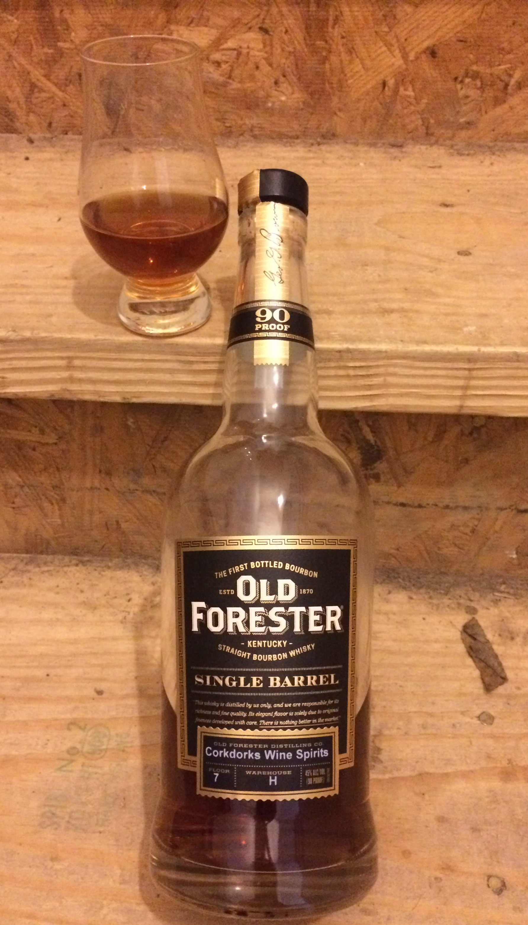 Old Forester Single Barrel (Store Pick)