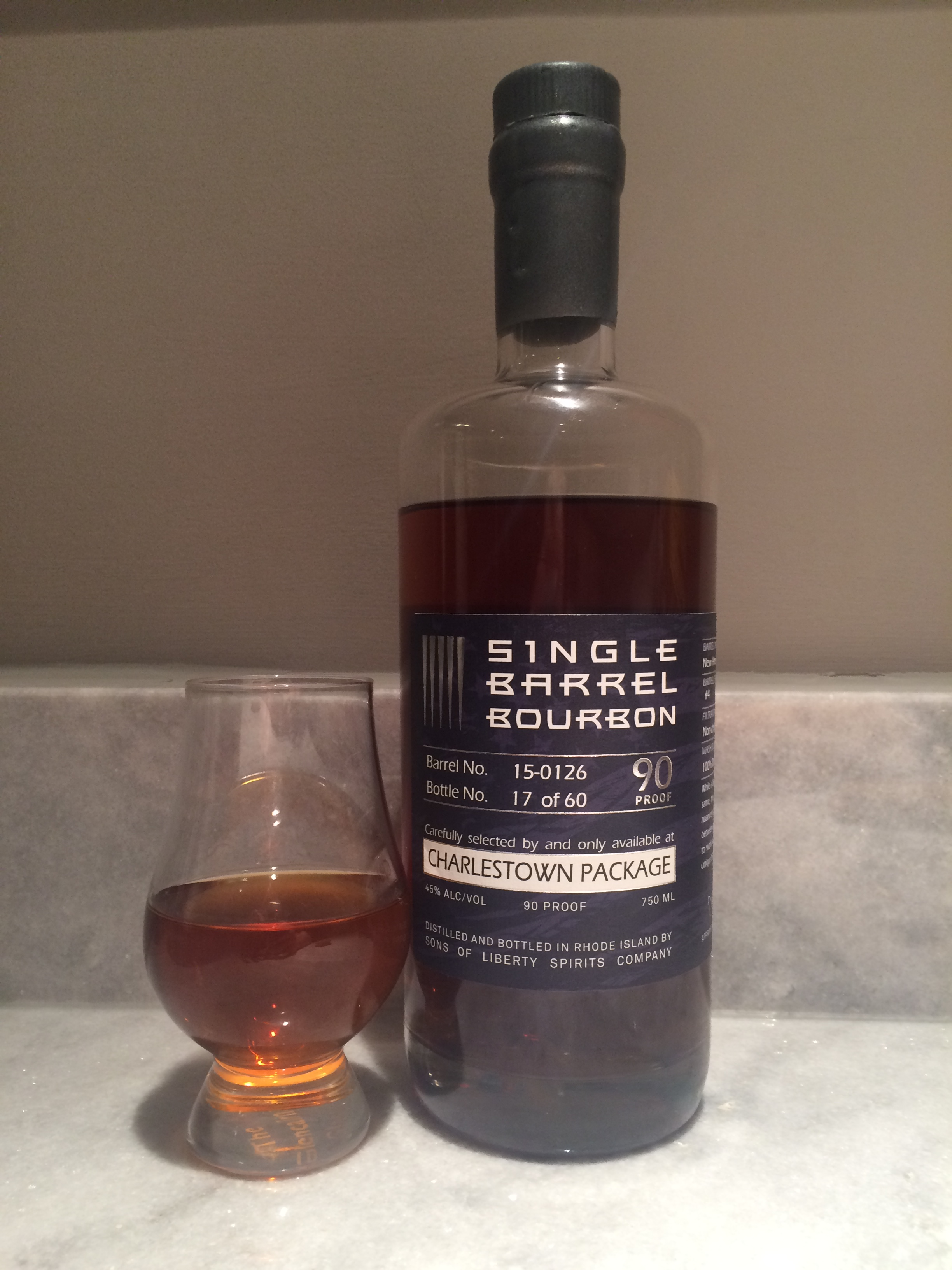 Sons of Liberty Single Barrel Bourbon