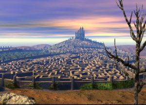 A Hellish maze