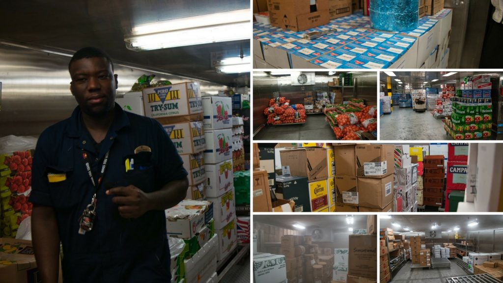 All Access Ship Tour - Food Storage