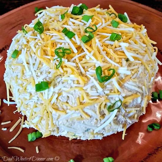 Buffalo Chicken Cheese Ball | http:dadwhats4dinner.com