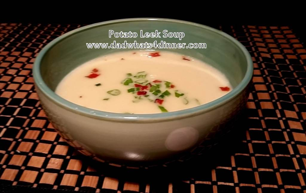 This Potato Leek Soup will hit the spot when it is cold outside. The soup is comfort food at its best! Smooth and creamy!