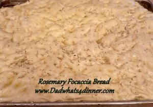 Nothing beats homemade bread and this Rosemary Focaccia Yeast Bread is perfect side for any meal. Don't be scared of working with yeast.
