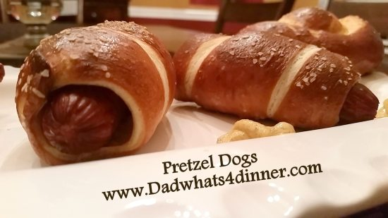 PRETZEL DOGS | http://dadwhats4dinner.com