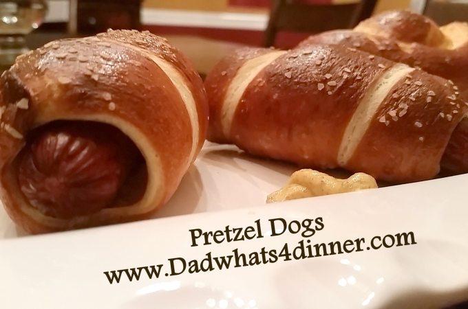 Pretzel Dogs
