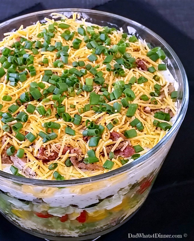 Green Chili Cornbread Salad