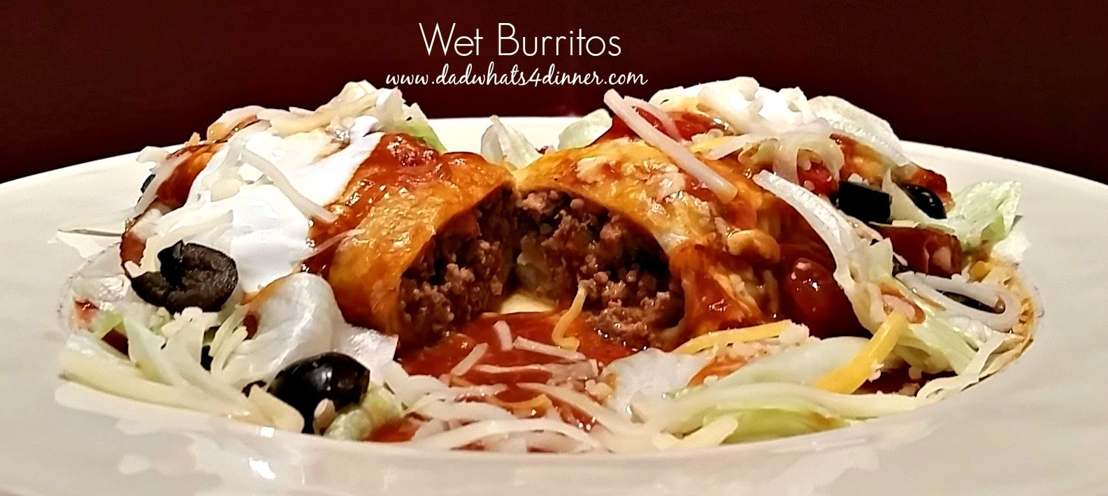 Wet Burritos | http://dadwhats4dinner.com