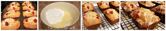 Cranberry Eggnog Christmas Bread | https://dadwhats4dinner.com/