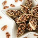 Pecan Diamond Shortbread Cookies   www.dadwhats4dinner.com