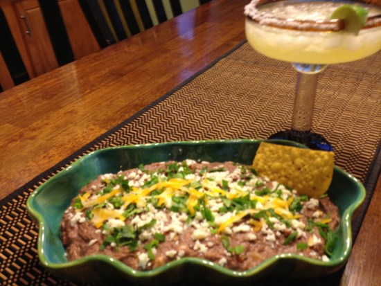 Mexican Black Bean Dip | http://dadwhats4dinner.com/