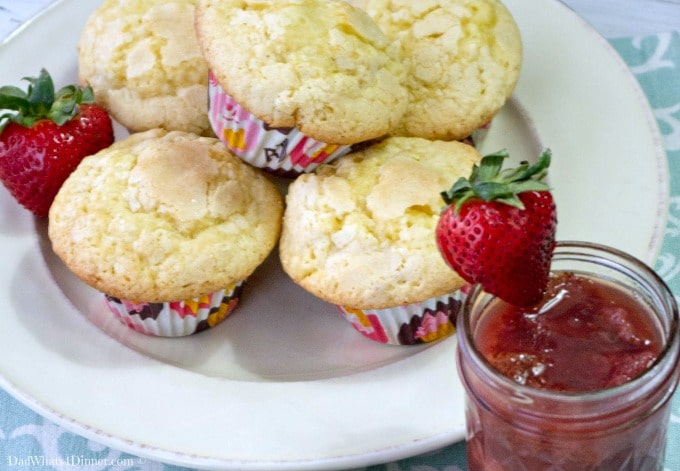 Strawberry Sugar Muffins