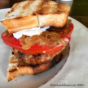 The taste of Italy comes alive in my Tuscan Chicken Burger. Full of Italian seasonings, topped with fresh mozzarella, garden tomatoes then served on grilled Italian crusty bread.