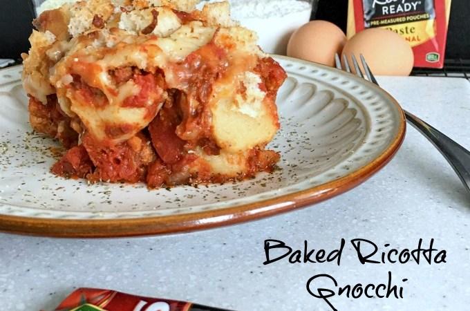 Baked Ricotta Gnocchi