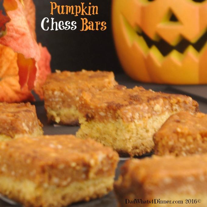 Pumpkin Chess Bars