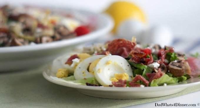 Spring Veggie Cobb Salad