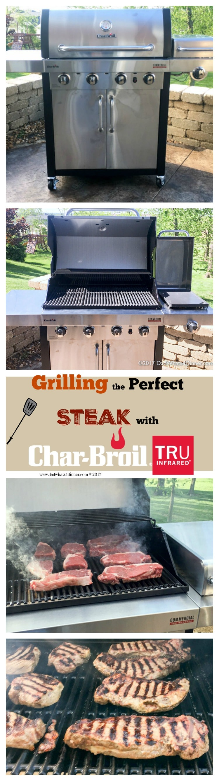 how to cook the perfect steak on a gas grill