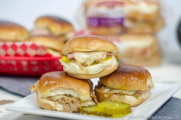Instant Pot Cuban Sliders