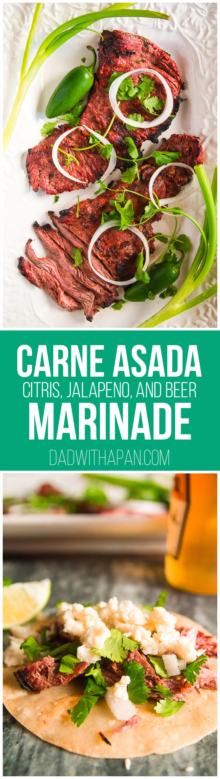 Carne Asada Beer Marinade Recipe