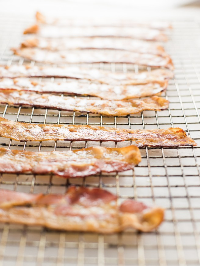 Cooking bacon in the Oven is the best way to get perfectly crispy bacon every time! dadwithapan.com