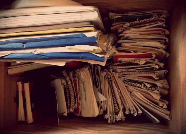 waste books