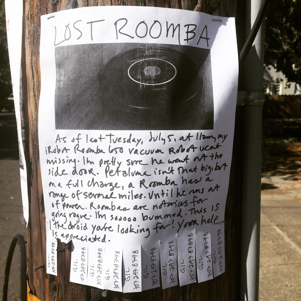 Lost Roomba