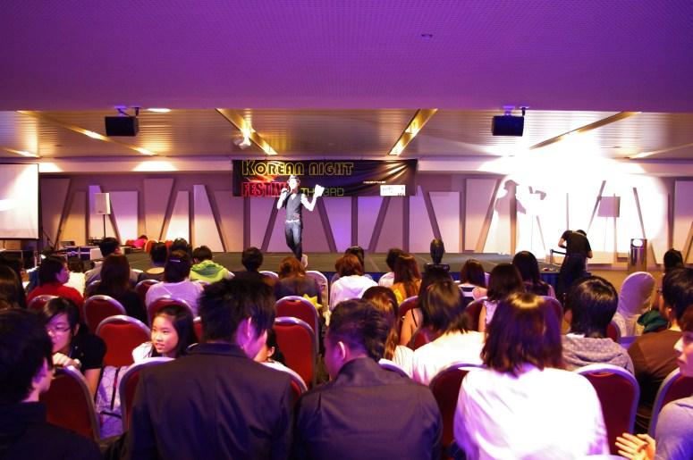 3rd Korean Night Festival with 550 audiences with MC Kwak Kyunghoon