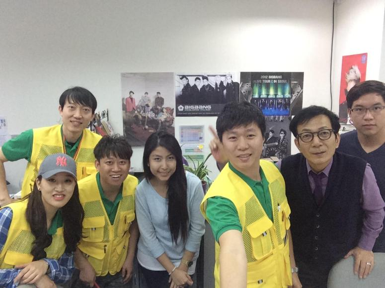 Trainees from Korea visited our Daehan Korean