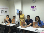 Teacher Ms Ku Hara and her students of Korean Language Academic Advanced Course