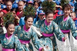 Celebrations at Lamdon School, Leh