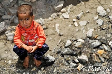 Little Boy Shigar Valley, Skardu