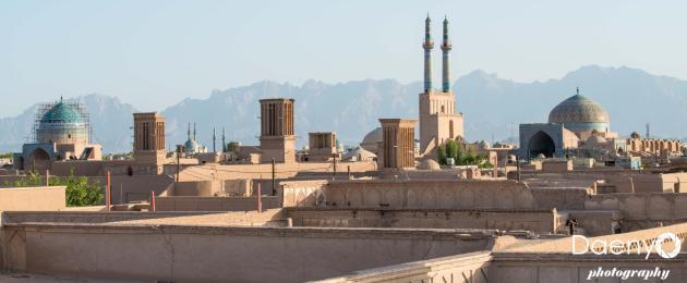 Cityscape, Yazd