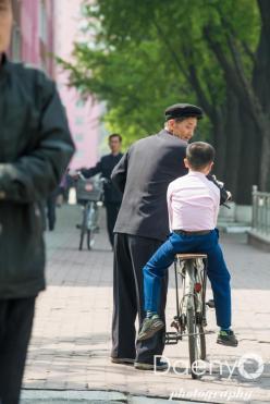 street life, Pyongyang
