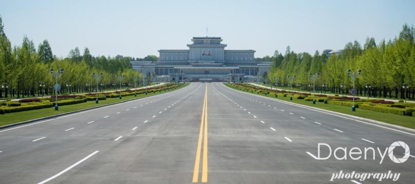 important looking complex, Pyongyang