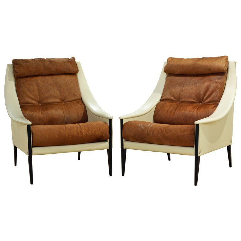 Designed By Gio Ponti, The Most Influential Italian Designer Of The 20th  Century, These Mid Century Modern Style Re Edition Lounge Chairs Made By  Legendary ...