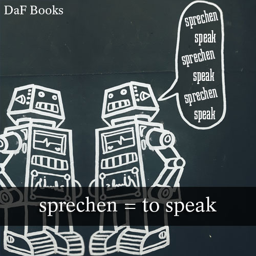 sprechen - to speak: DaF Books vocabulary list