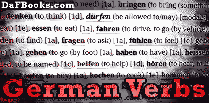 German Verbs [1e]