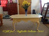 "Coffee Table - Annie Sloan Chalk Paint ""Cream"" with dark wax - SOLD"
