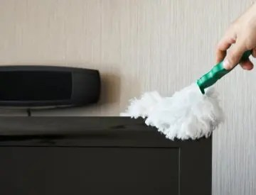 Use these tips for better dusting in your home. ©iStockphoto.com/ryznart