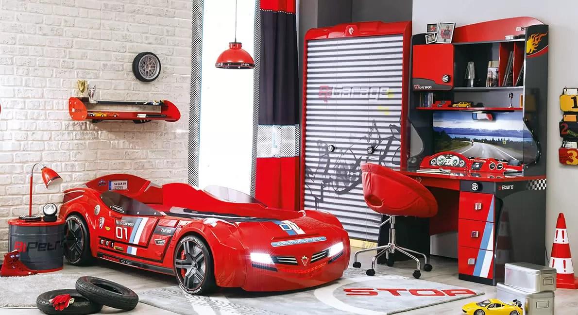 車の形をしたベッド、船、王女? あなたの子供の寝室のための便利なアイデア...