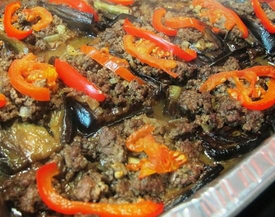 קרני ארי – חצילים ממולאים בבשר נוסח תורכיה