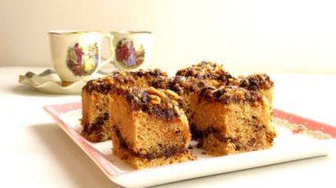 עוגת שכבות מושלמת שוקולד ואגוזים
