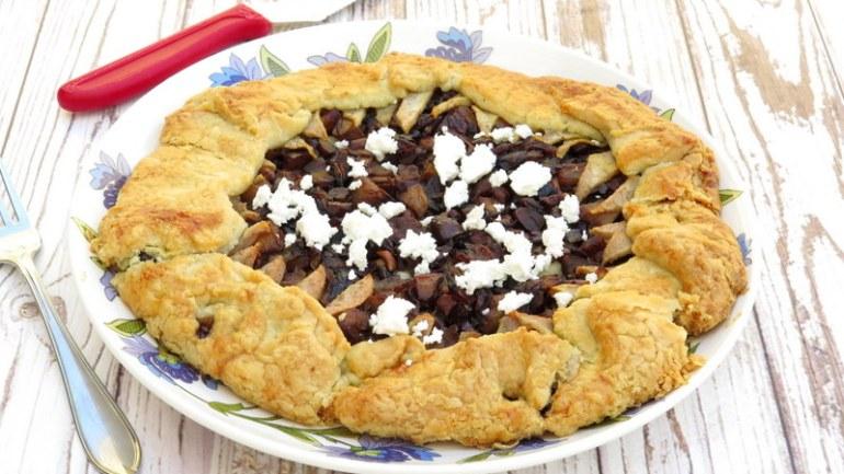 מהמטבח הצרפתי – גאלט פטריות, ערמונים ואגסים מקורמלים