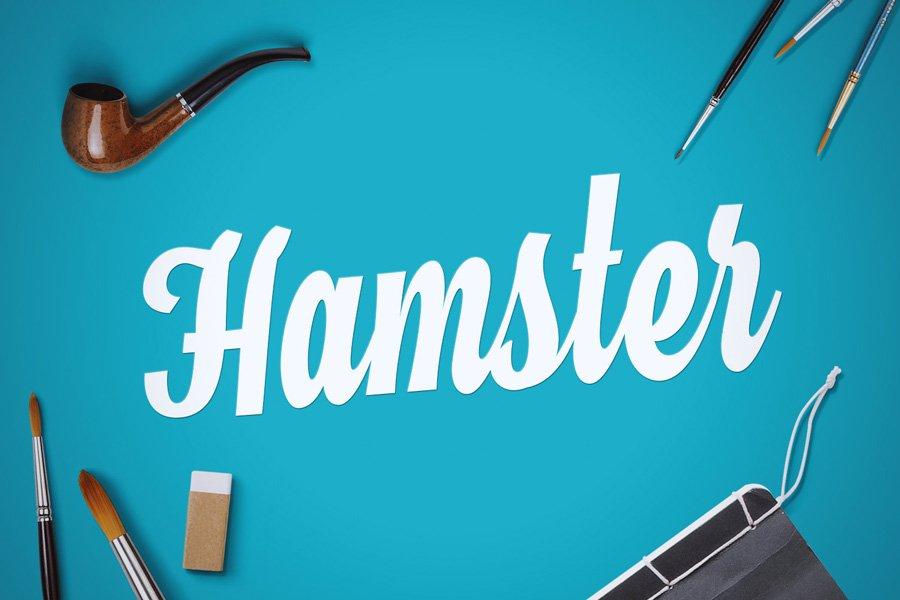 01_hamster-free-font1
