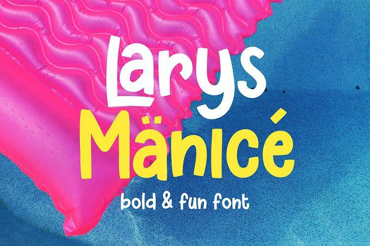 Larys-Manice-Font