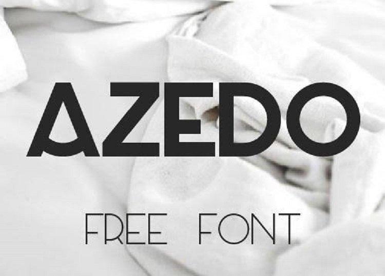 Azedo Font