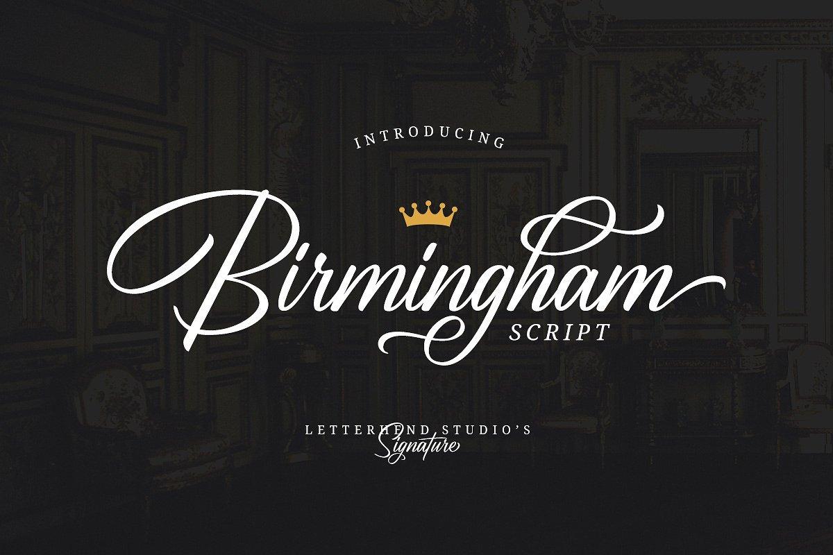 birmingham-script-font