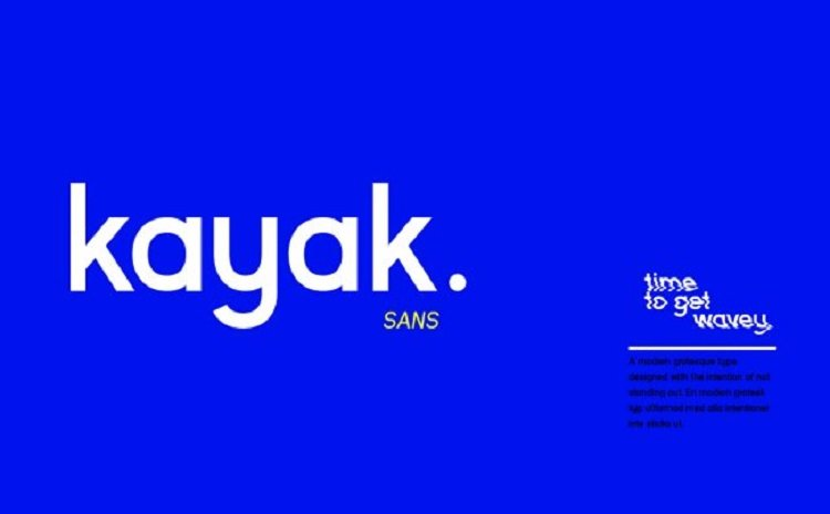 kayak-sans-free-typeface