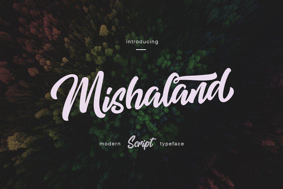 mishaland-typeface