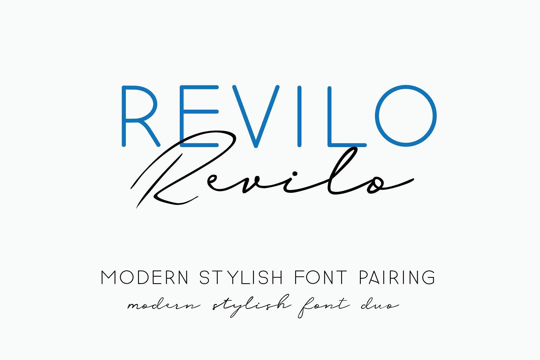 revilo-san-typeface